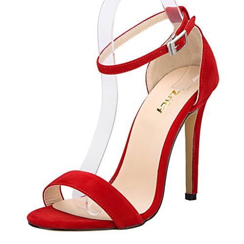 red high heels size 6 - 7