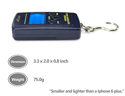 Booms Fishing C1 Compact LCD Digital Scale