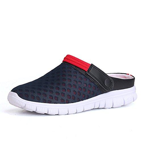 Flipflop Hombre Snekers,YiYLunneo Hombres Mujeres Verano Chancletas Malla De La Sandalia Zapatos Transpirables Chanclas De Playa Acolchadas Calzado: ...