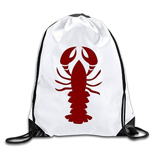 RYAN Lobster Unisex Sport Drawstring Bag Cinch Packs (Ladies Snowman Costume)
