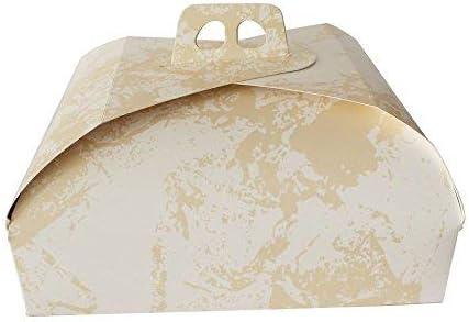 takestop® - Caja de cartón para Tartas, 3 Unidades, 25 x 25 ...