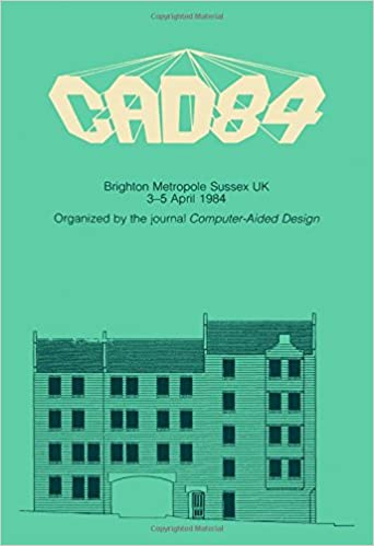 Amazon Cad84 6th International Conference And Exhibition On Computers In Design Engineering 9780408014403 Jeanna Wexler Books