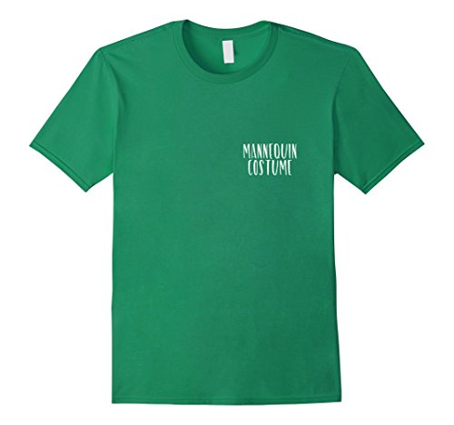 Simple Guy Costumes For Halloween (Mens Mannequin Costume Funny Simple Halloween Party Shirt Medium Kelly Green)