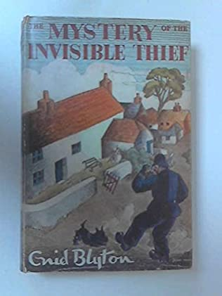 book cover of The Mystery of the Invisible Thief