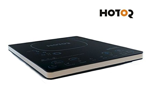 HC-20G9 Black Hotor 1500-Watt Ultra-thin Induction Cooker Cooktop with Stainless Steel Pot