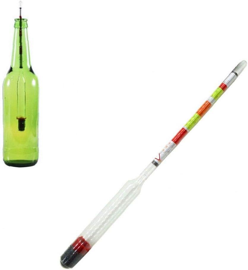 Tripla Scala idrometro per Articoli per la casa Brewing Triplescale Tester Brewing /& Brew domestico vinificazione Attrezzature per la birra e il vino che fanno rifornimento