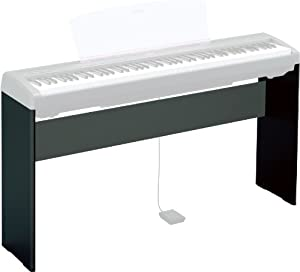 yamaha l85 stand for yamaha p45 and p115 digital stage pianos black musical. Black Bedroom Furniture Sets. Home Design Ideas