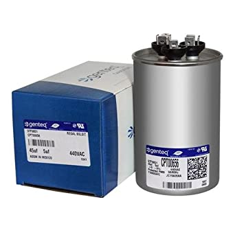 fits GE # 27L880BZ3 45//5 uf MFD 370//440 Volt VAC ClimaTek Round Capacitor