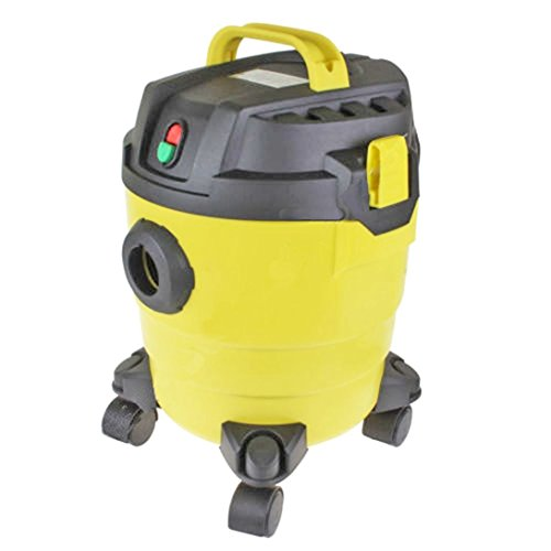 Heavy duty 10 Litre wet and dry vacuum cleaner - 1000w Motor - Complete with tools and accessories - Perfect for engineers / tradesmen - Lightweight and portable