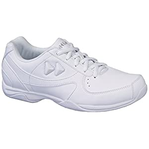 Kaepa Youth Elevate Cheer Shoe (Pair), White, 10