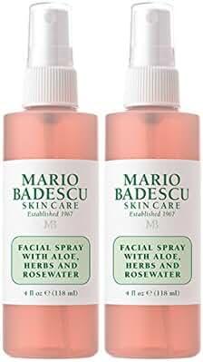 Mario Badescu Facial Spray with Aloe, Herbs & Rosewater Set