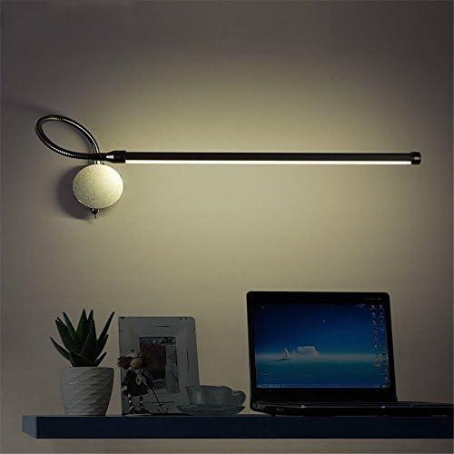 ZhuoYuan Moderne Wandleuchte Led-Wandleuchte Schlafzimmer Bett Lampen Schlauch Strahler die Wand mit modernen, minimalistischen Wandleuchte Schalter