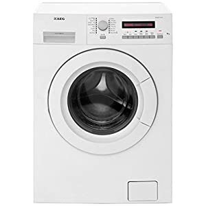 aeg l73483fl protex 1400rpm washing machine 8kg load. Black Bedroom Furniture Sets. Home Design Ideas