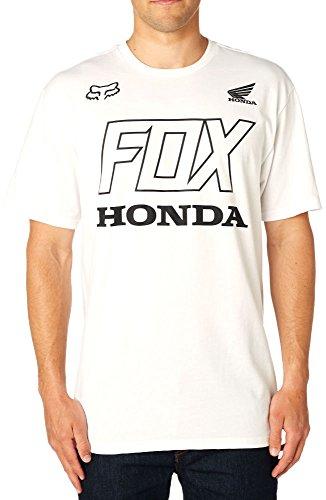 Fox Racing Men's Fox Honda S/S Shirts,Small,Optic (Honda Racing Shirts)