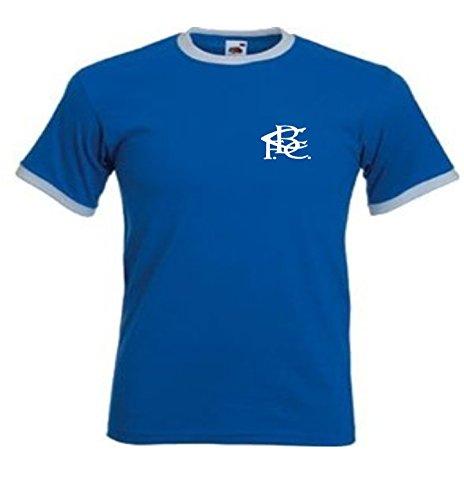 Birmingham FC Estilo Retro Club De Fútbol Azul BCFC camiseta - Todas Las Tallas - Blanco