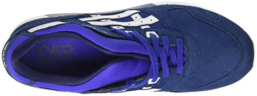 Asics Gel-Lyte III, Scarpe da Ginnastica Basse Uomo Blu (Imperial/White/Hot Orange)