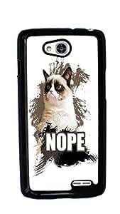 Grumpy Cat Hard Case for LG Optimus L90 ( Sugar Skull )