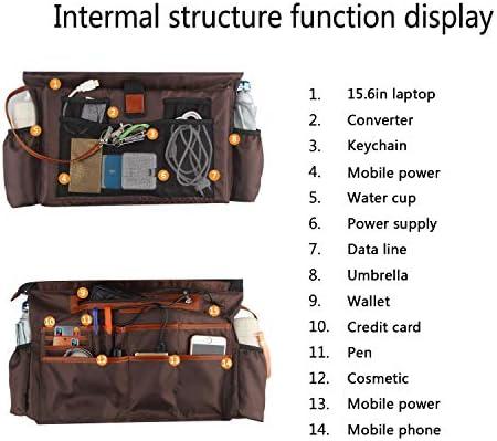 Woman Laptop Tote Bag,USB Teacher Bag Large Work Bag Purse Fits 15.6 in Laptop