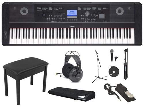 Yamaha DGX660 Deluxe Piano Package With Headphones, for sale  Delivered anywhere in USA