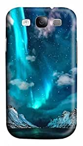 3D PC Case Cover for Samsung Galaxy S3 I9300 Custom Hard Shell Skin for Samsung Galaxy S3 I9300 With Nature Image- Blue Lake