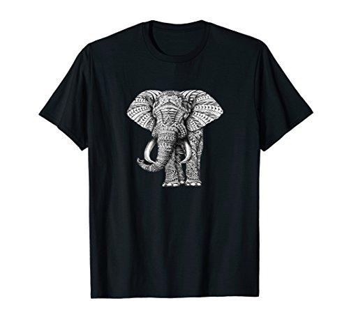 - Exotic Elephant Graphic T-Shirt Perfect Gift Women Men Kid 1