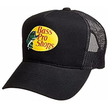 f9ba8e60 BestsBrands, Authentic Bass Pro Shops Logo Mesh Cap for Kids and Youth  Adjustable. Size