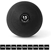 Day 1 Fitness Weighted Slam Ball – 9 Sizes Available,...