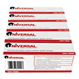 Universal 79000VP Standard Chisel Point 210 Strip Count Staples, 5,000/Box, 5 Boxes per Pack