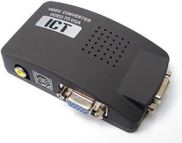 Convertidor Video RCA, S-Video a VGA para Pantallas de PC o ...