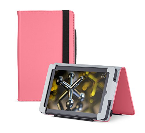 (Fire HD 6 Case (2014 model), Pink,  Nupro, Standing Case, Protective Cover (4th Generation: 6