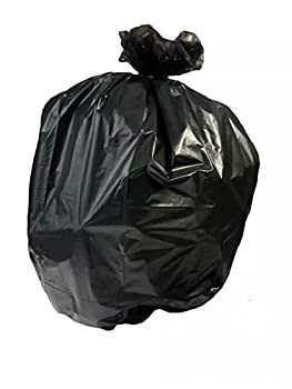 BTG-60XXH, 60 Gallon, Extra Heavy Can Liner Bags, 50, 2 Mil Thick LLDPE, Black, 38 wide x 57 inches, MADE IN USA