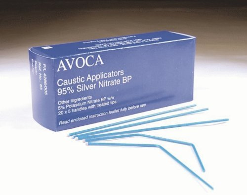 (Avoca 95% Silver Nitrate Sticks (Box of 100) by Health-Care Equipment & Supplies)