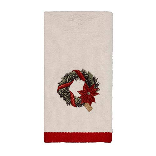 (Avanti Linens Farmhouse Holiday Fingertip Towel)