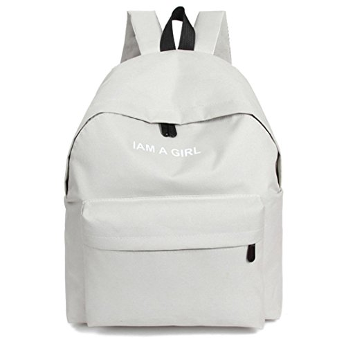 Sac Book bandoulière sac Tonsee® Blanc Blanc Toile à à Filles dos Garçons School Unisexe à dos vppSqIUxw