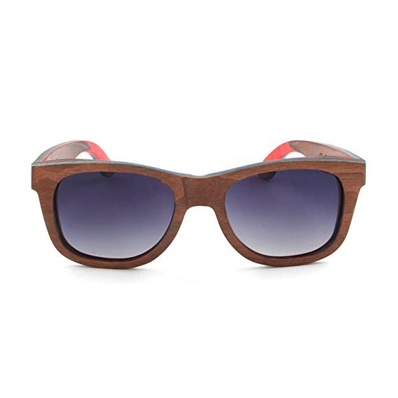 ca210acfa8 MOTELAN Polarized Wood Sunglasses Layered Skateboard Wooden Frame Bamboo  Case 2 HANDCRAFTED WOODEN SUNGLASSES- Each