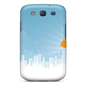 New Arrival Case Specially Design For Galaxy S3 (monster Attack)
