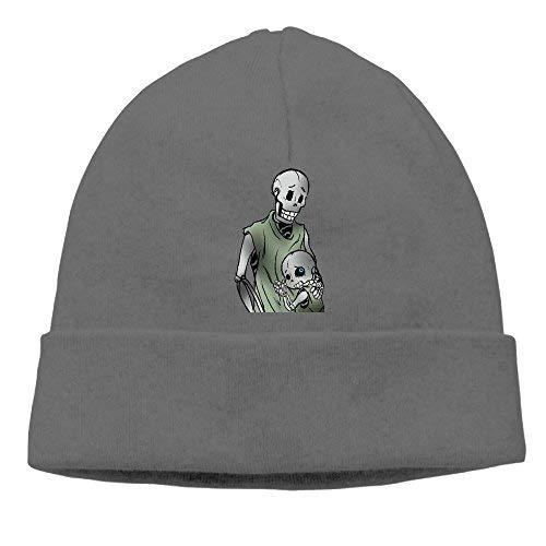 Go Ahead boy Unisex Skeleton Baby and Mom Classic Fashion Daily Beanie Hat Skull Cap