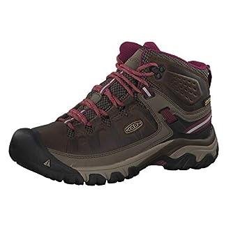 KEEN Women's Targhee Iii Waterproof Mid High Rise Hiking Shoes 3