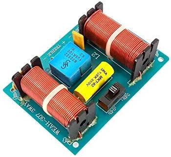 Landa tianrui DIY Electronic kit 3-Wege-Audio-Lautsprecher Crossover 100W Filter Treble Mediant Bass Frequency Divider Modul