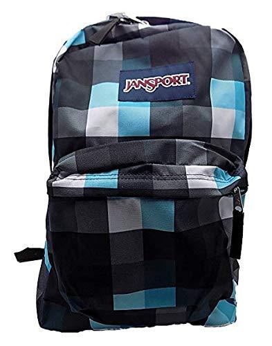 Jansport Superbreak Backpack (Forge Grey/Blinded Blue Double Bluff) ()