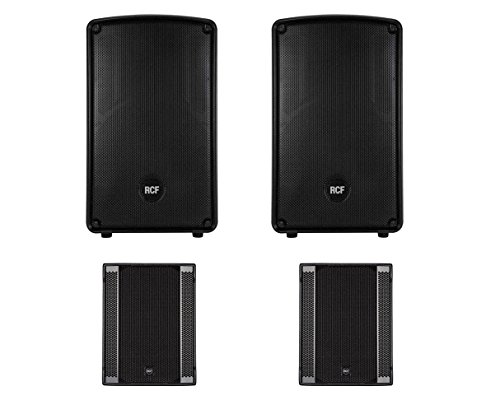 2x RCF HD 12-A MK4 + 2x RCF Sub 708-AS II Active Speaker / Subwoofer 2.2 System ()