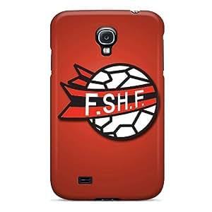 Hot Style VGMPGln4879QvDBl Protective Case Cover For Galaxys4(albania Football Logo)