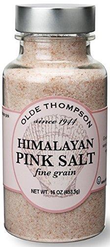 Olde Thompson Salt Mill (Olde Thompson Himalayan Pink Fine Salt Shaker Refill, 16 oz, Clear)