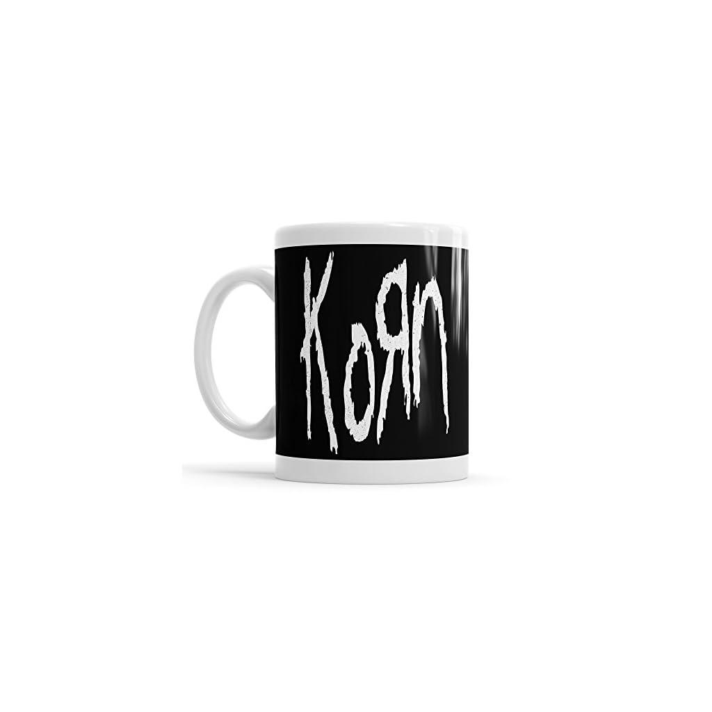 Taza con logo Korn