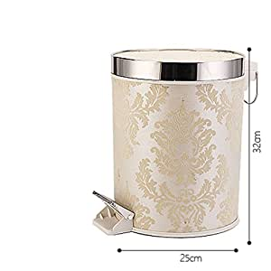 can bathroom trash can fashion creative kitchen trash can with lid
