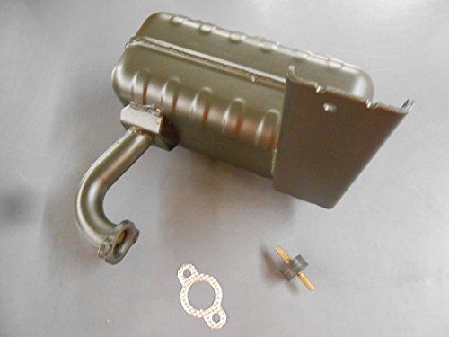 [TOR] [117-7461 KIT] Toro Timecutter Z Muffler 112-4024 Z4200 Z5000 -