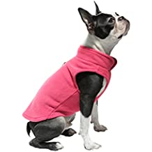 Gooby Every Day Fleece Cold Weather Dog Vest for Small Dogs, Pink, Small