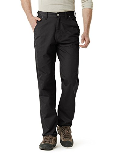 CQR CQ-TWP301-BLK_38W/30L Men's Operator Rip-Stop Tactical Work Utility Pants EDC TWP301 by CQR