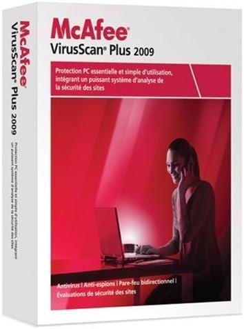 McAfee VirusScan Plus 2009 - Seguridad y antivirus (Caja, 1 usuario(s), Multilingüe, Windows, 150 MB, 256 MB): Amazon.es: Software