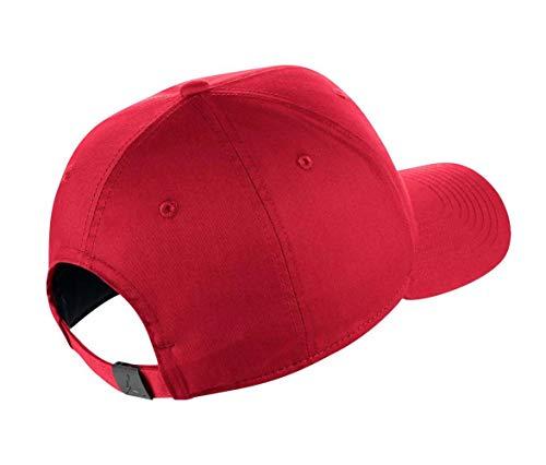 gym Metal Tenis Gorra Única Adulto Talla Clc99 Unisex Nike de red Gym Jumpman Jordan Red rojo Rojo qEZxpf